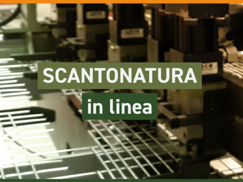 Scantonatura in linea