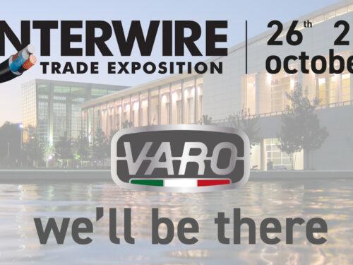 VARO a Interwire 2021, il 26 e 27 ottobre